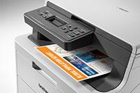 DCP-L3510DW colour printer with colour print out