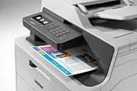 Barevná multifunkční tiskárna DCP-L3550DW s barevným výtiskem