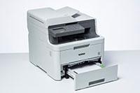 DCP-L3550CDW barvna večfunkcijska naprava z odprtim pladnjem za papir