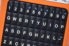 PTE110VP tarratulostimessa on erilliset numeronäppäimet