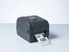 TD-4T asztali címkenyotató, szállítói címke nyomtatása közben