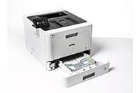 Voit säilyttää erilaiset paperit omissa paperikaseteissaan