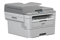 Pohled zprava na mono laserovou tiskárnu 4-v-1