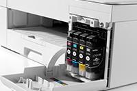DCP-J1200DW-tulostimen värikasetit