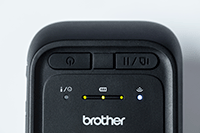 Близък план на мобилен принтер RJ2035B или RJ2055WB