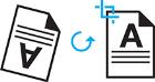 Ikona funkcie Zarovnanie stránky