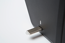 USB-vert på en Brother scanner