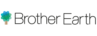 Brother Earth logo drevo