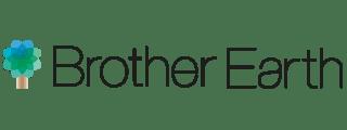 Brother Earth logo drevo