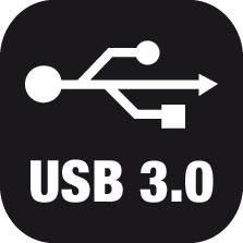 USB 3. 0 logo