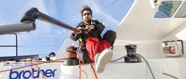 La vie à bord du voilier de Yoann Richomme, vainqueur de la Route du Rhum 2018