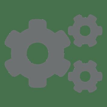 icône de trois écrous gris