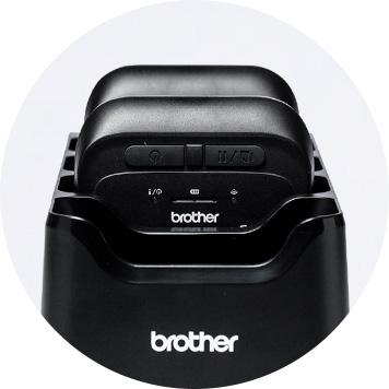 socle de recharge de batteries pour les imprimantes RJ