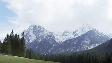Montagne et plaine - Brother Earth - environnement