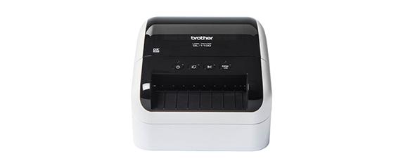 Image de face de l'imprimante d'étiquettes QL-1100