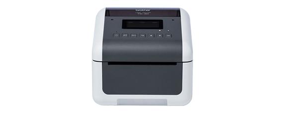 Image de face de l'imprimante d'étiquettes TD-4550DNWB