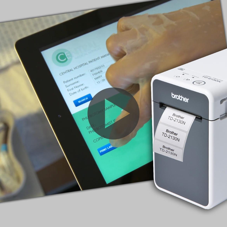La Gamme d'imprimantes d'étiquettes TD en Vidéo