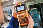 L'étiqueteuse PT-E300VP est idéale pour la maintenance