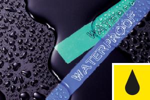 Résistance à l'eau - étiquettes P-touch Testées à l'Extrême