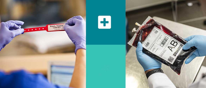 etichette settore sanitario
