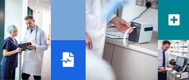 soluzioni Brother per etichette sanità