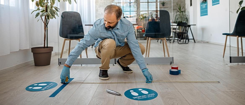 Dalla distanza di sicurezza all'igiene, le regole per una azienda Covid free