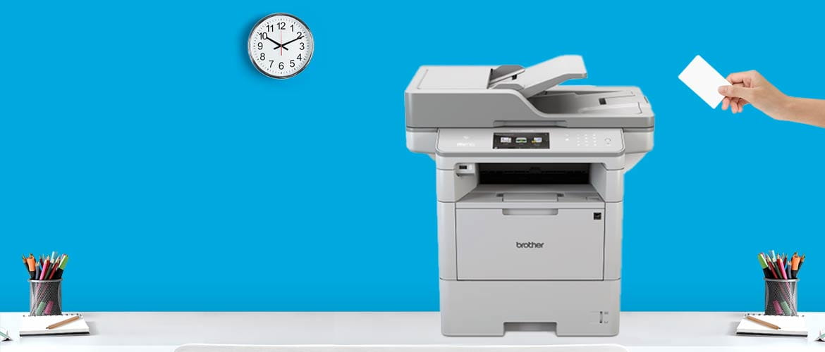 Stampante Brother con Secure Print+ per stampe sicure
