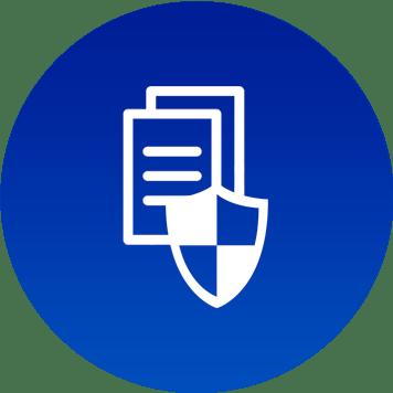 Icona protezione documenti