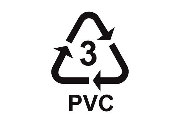 Simbolo packaging PVC