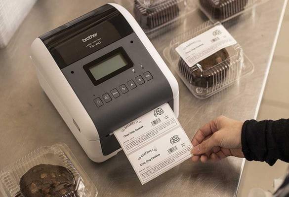 Stampante barcode Brother TD stampa etichette alimenti