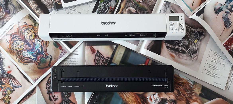 Scanner portatile DS Brother con stampante portatile PJ-773