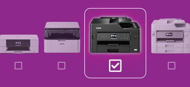 Trova la stampante multifunzione Brother ideale per le tue esigenze