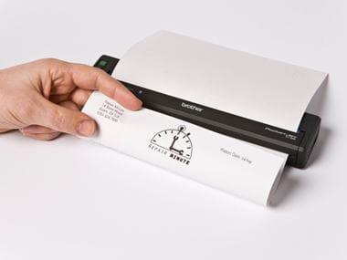 Stampante portatile Brother della gamma PJ-700 per lavoratori in campo.