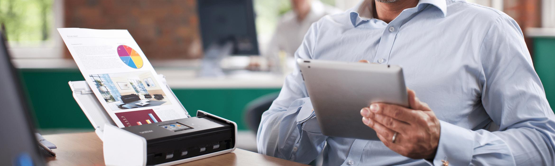 scansione effettuata in ufficio con Brother ADS-1600W