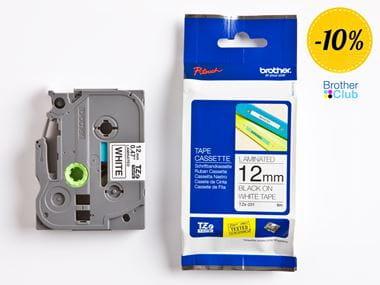 Nastro originale Brother TZe231 per etichettatrici P-touch con 10% di sconto
