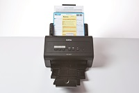 Documenti con barcode scansionati con scanner desktop Brother ADS3000N