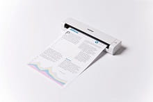 DS-720D scanner bianco ultra-compatto portatile