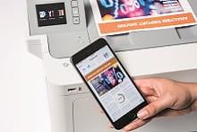 Stampa da smartphone con stampante laser a colori Brother HL-L9310CDW