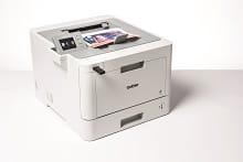Foglio stampato a colori con la stampante a colori Brother HL-L9130CDW