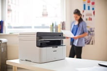 MFC-1910w COMPACT ALL-IN-ONE printer on the desktop
