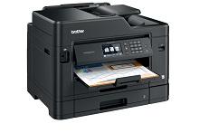 Foglio stampato con stampante multifunzione inkjet professionale MFC-J5730DW