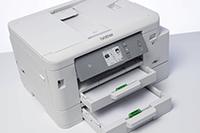 Stampante multifunzione inkjet con doppio cassetto carta