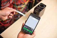 PT-P750TDI etichettatrice elettricisti collegabile tramite app smartphone