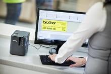 PT-P900W software professionale incluso nel PC, etichettatrice di qualità