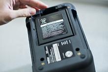 Dettaglio etichettatrice Brother PT-P900W