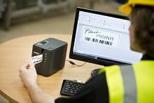 Software di progettazione etichette per etichettatrice Brother PT-P950NW