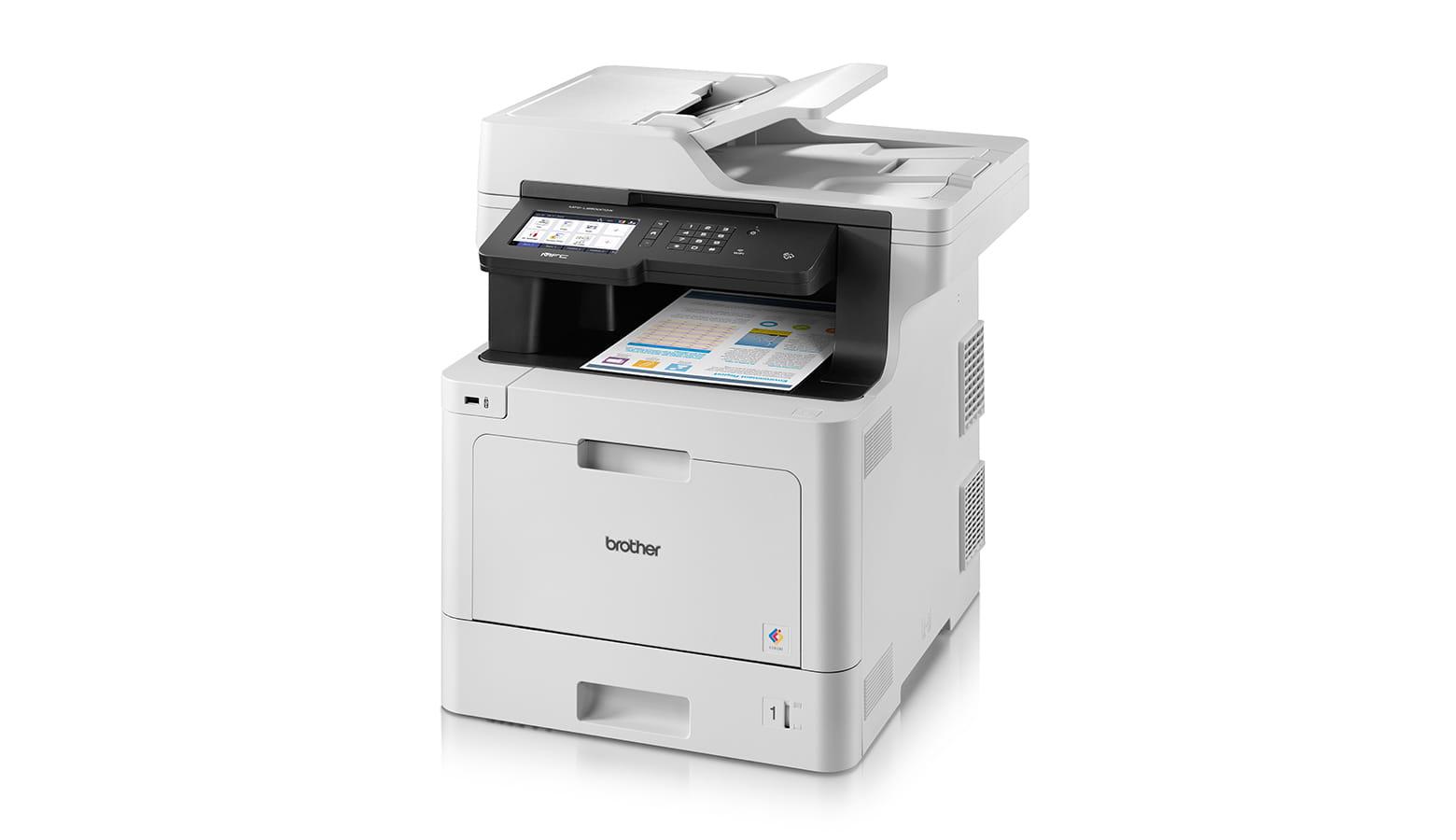 Stampante Brother MFC-L8900CDW maggiore efficienza e riduzione costi