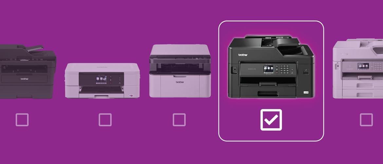 Scopri la stampante multifunzione Brother ideale per le tue esigenze