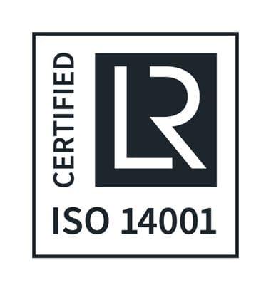 ISO 14001 Certified logo