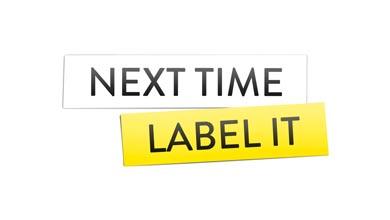 Next time label it logo